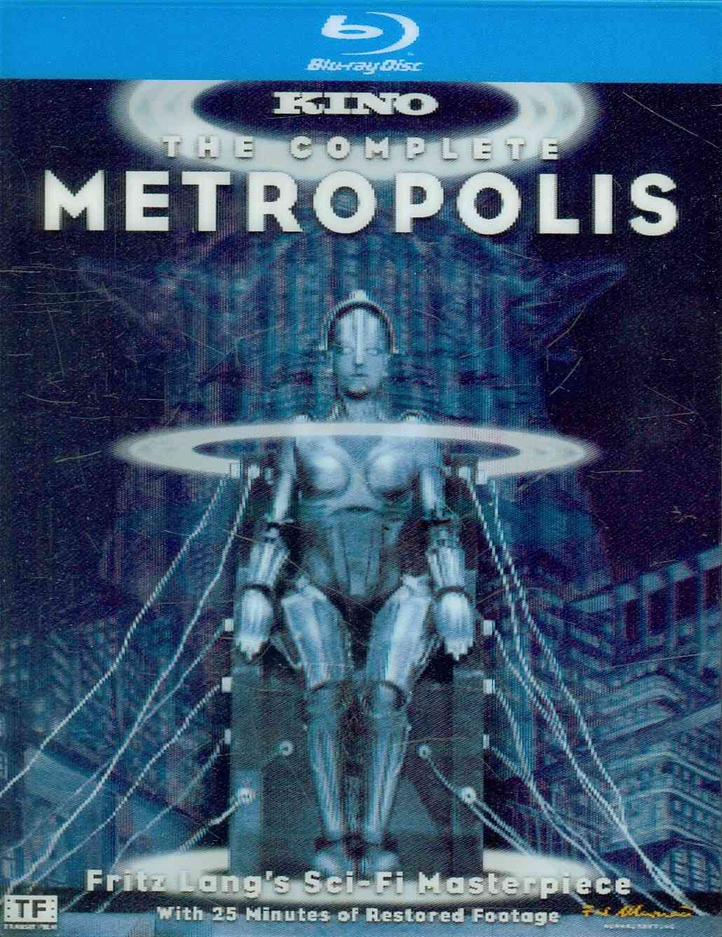 METROPOLIS (THE COMPLETE ) BY LANG,FRITZ (Blu-Ray)